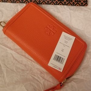Tory Burch wallet and phone holder